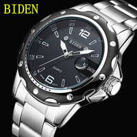 Reloj Hombre BIDEN Fashion Casual Business Men S Watches Top Brand Luxury Quartz Watch Clock Male