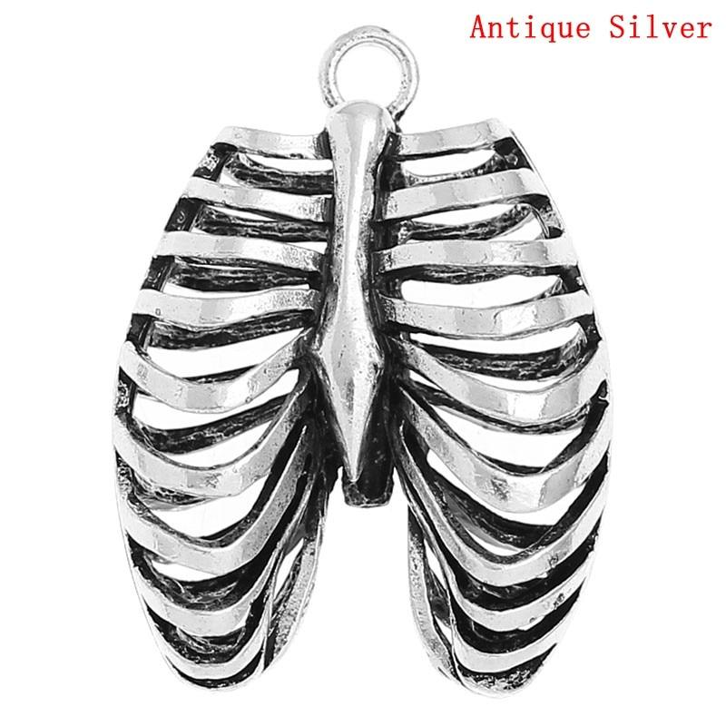 ღ Ƹ̵̡Ӝ̵̨̄Ʒ ღDoreen caja caliente-encanto Colgantes anatómico ...