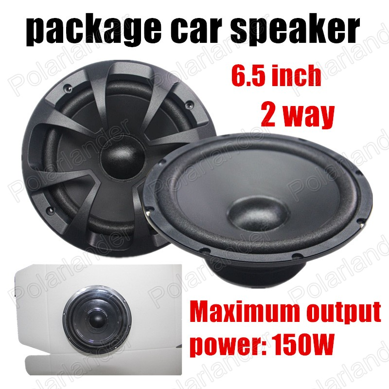 6.5 inch auto door component speakers best selling high quality 2 Way 2x150W Car package Speaker stereo audio Speaker-in Multi-tone \u0026 Claxon Horns from ...  sc 1 st  AliExpress.com & 6.5 inch auto door component speakers best selling high quality 2 ...