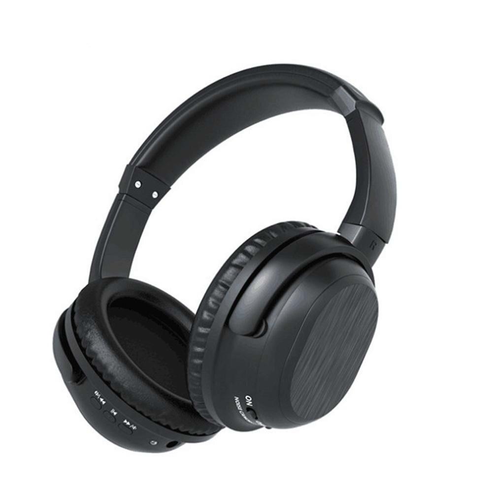 Active Noise Cancelling Bluetooth Hoofdtelefoon Met Mic Over Ear Draadloze Stereo Headset HiFi Diepe Bas Voor Werk Reizen TV PC telefoon - 2