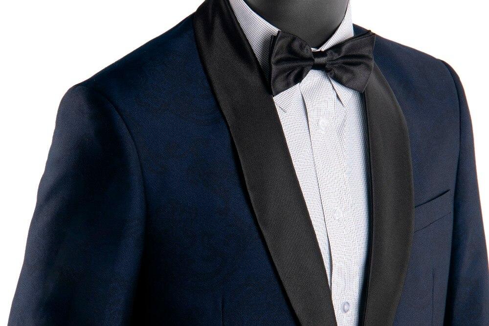 Gwenhwyfar Autumn New Jacquard Man Suit Shawl White Lapel Groom Tuxedos Men s Wedding Prom Dinner