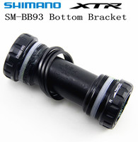 SHIMANO XTR SM BB93 Bottom Bracket Hollowtech II Mountain Bicycle Bottom Bracket 68/73mm BB93 MTB