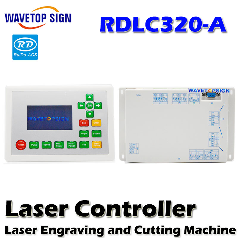 Ruida RD RDLC320-A RDL320 Co2 Laser DSP Controller for Laser Engraving and Cutting Machine RD320 320