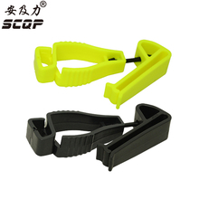 100Pcs High Quality Plastic Glove clip with protecting Holder security work gloves Guard Utility Guard clip AT-2JQB