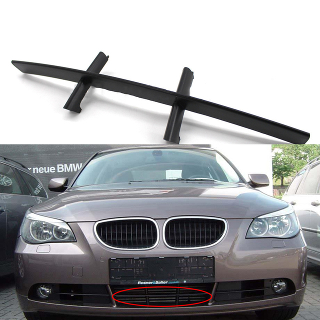 Car Front Bumper Grille Below Grill For BMW E60 E61 520d