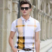 2019 Aeronautica Militare Men Plaid Polos Para Hombre Brand Cotton Blended Casual Short Sleeve Polo Homme Camisa Polo Masculina