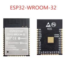 10PCS ESP32 ESP WROOM 32 WiFi + Bluetooth 4.2 dual core CPU MCU low power 2.4G  ESP32 WROOM 32 4MB /8MB/ 16MB FLASH