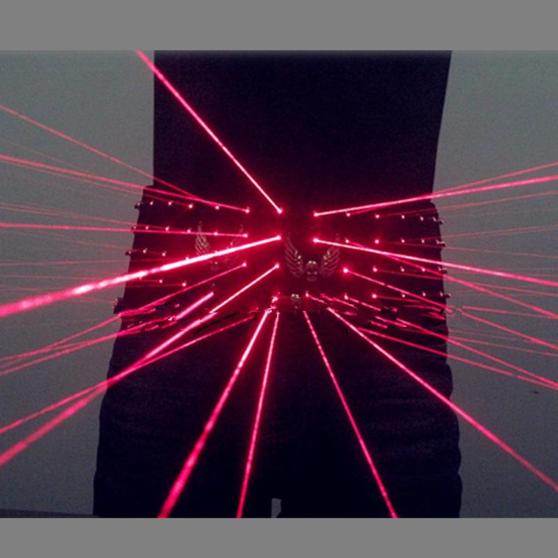 Czerwony laserowy pasek w talii Odzież Garnitury laserowe Pokaż kobiety mężczyźni kostiumy dla wykonawców klubu nocnego Darmowa wysyłka