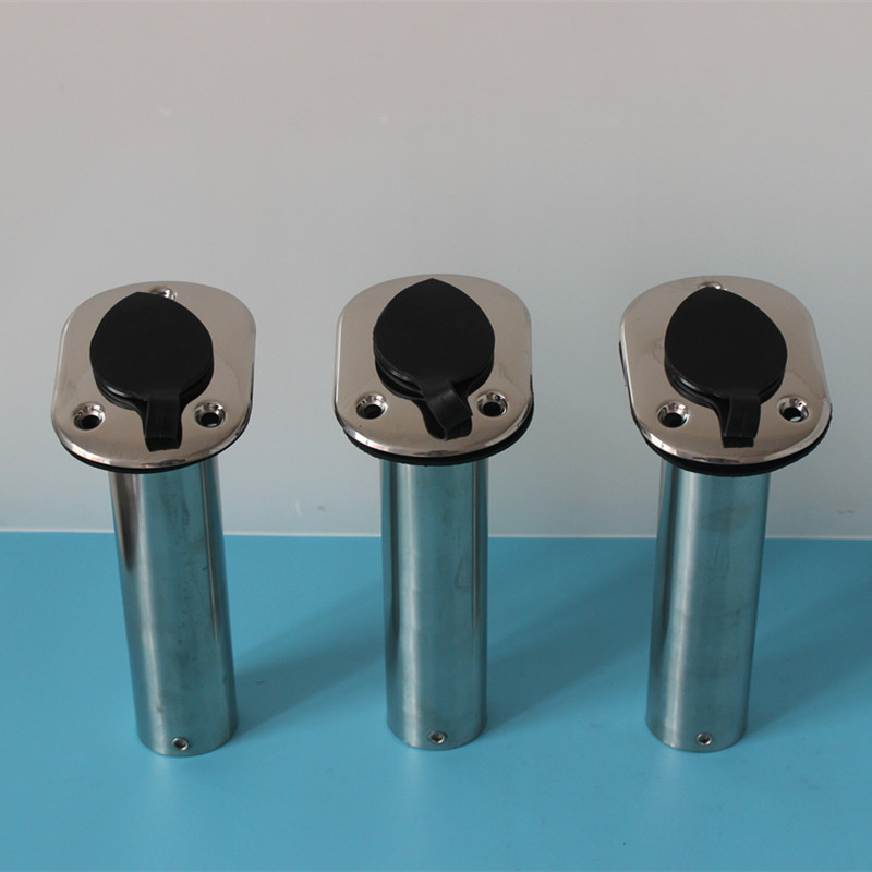 3 pieces fishing rod holders 15 degree(75 degree) marine boat yacht rod rests boat accessories marine