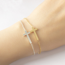 Corss Katholieke Sideways Armband
