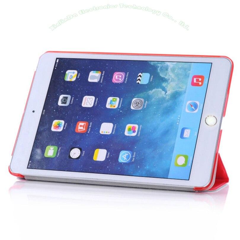 1PC Apple iPad Mini үшін жаңа былғары Case 3 2 1 - Планшеттік керек-жарақтар - фото 4