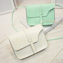 Fashion New Simple Design Women Shoulder Bag Vintage Handbag Quality PU Leather Messenger Bag Female Retro Handbags 8 Colors