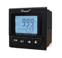 Двойной Каналы промышленных онлайн проводимости контроллер Мониторы Meter передатчик реле сигнализации и выходной ток Бесплатная доставка