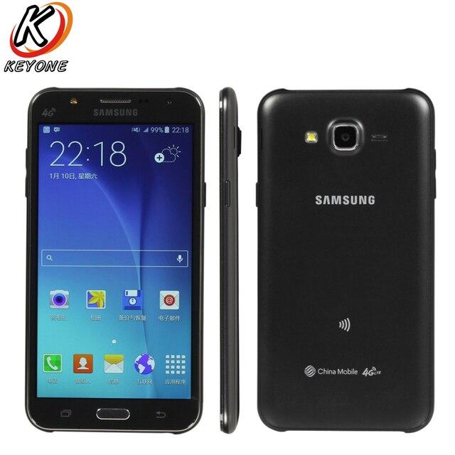 Original New Samsung GALAXY J7 J7008 4G LTE Mobile Phone 1.5GB RAM...