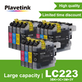 Plavetink LC223 LC221 совместимый чернильный картридж для принтера Brother LC 221 LC225 MFC-J4420DW J4620DW J4625DW J480DW J680DW J880DW принтер
