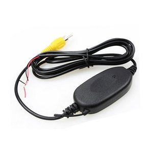 Image 5 - Podofo 2.4 Ghz kablosuz arka görüş kamerası RCA Video verici ve alıcı kiti araba dikiz monitör için FM verici alıcı