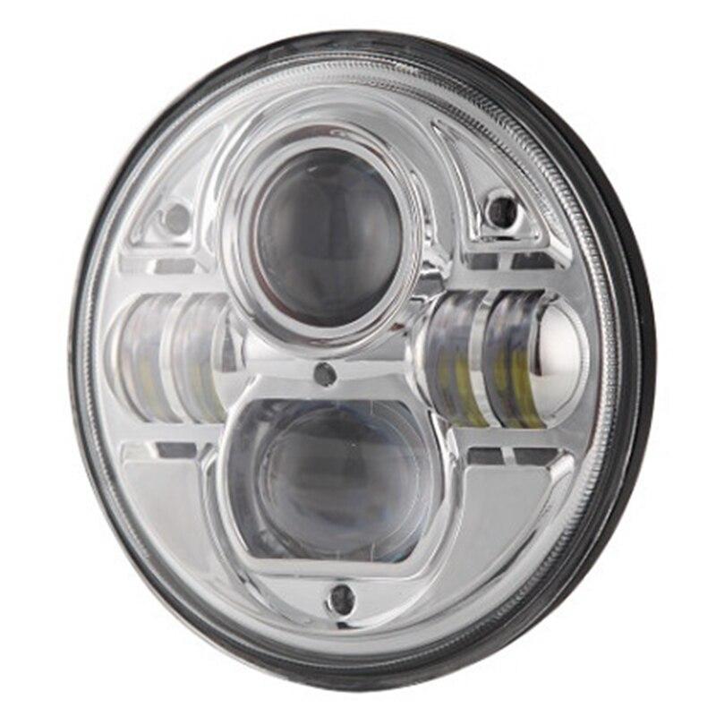 7 дюймов 73 Вт светодиодный фары фары Сид круга высокая низкая луч H4 Н13 12В 24В точка ИСО 9001