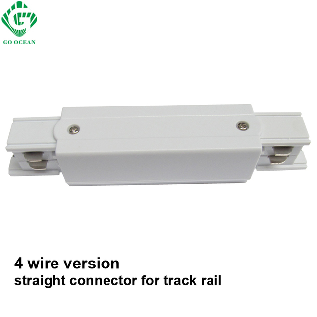 go ocean 3 phase circuit straight connectors 4 wire rail connector