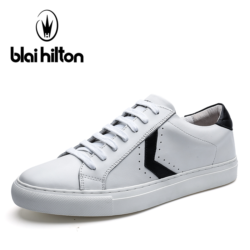 Blaibilton Brand 100% Genuine Leather Flats Men Shoes Fashion Coordinates Designer Punching Breathable Mens Shoes Casual SD7088 top brand high quality genuine leather casual men shoes cow suede comfortable loafers soft breathable shoes men flats warm