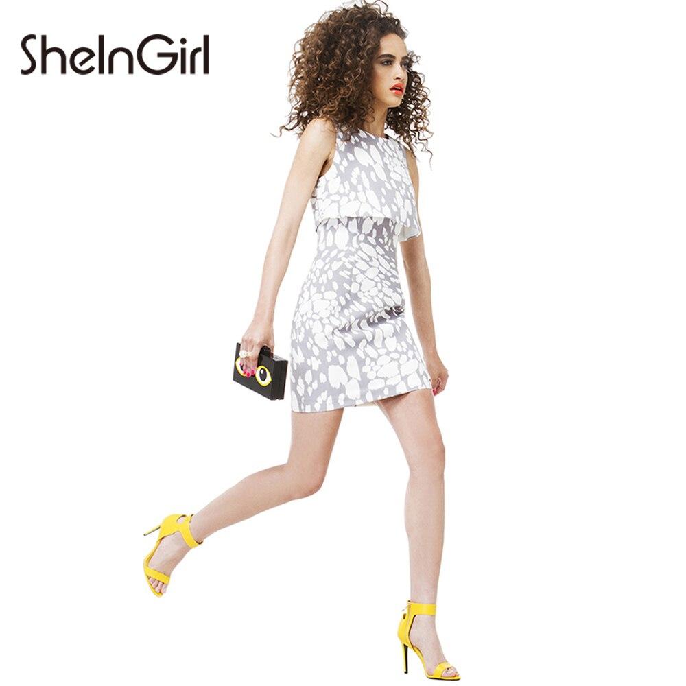 Cheap cheetah print dress