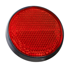 Image 5 - AOHEWE tròn Màu Trắng phản xạ tự dính ECE Phê Duyệt ánh sáng đánh dấu bên cho trailer xe tải xe tải caravan xe đạp vị trí ánh sáng