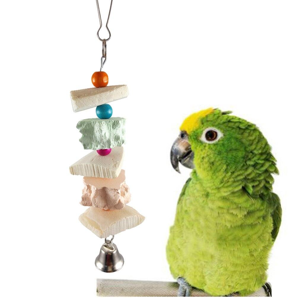 Parrot Supplies Bird Toy Peppercorns Bite Toy Calcium Complex String Bird Supplies Parrot Toy