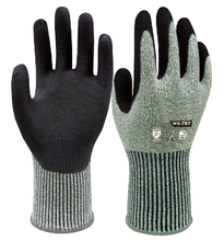 Strengthen cut resistant safety glove work Nitrile Rubber Palm Sandy Dipped cut-resistant anit cut Work Glove