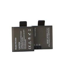 AOPULY Rechargeable Battery 2Pcs PG1050 For SJCAM SJ4000 SJ5000 SJ6000 SJ8000 EKEN 4K H8 H9 GIT-LB101 GIT PG900 1050 BATTERY