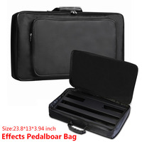 60 33 10cm Portable Effects Pedal Board Gig Bag Soft Case Universal Bag Guitar Pedal Board
