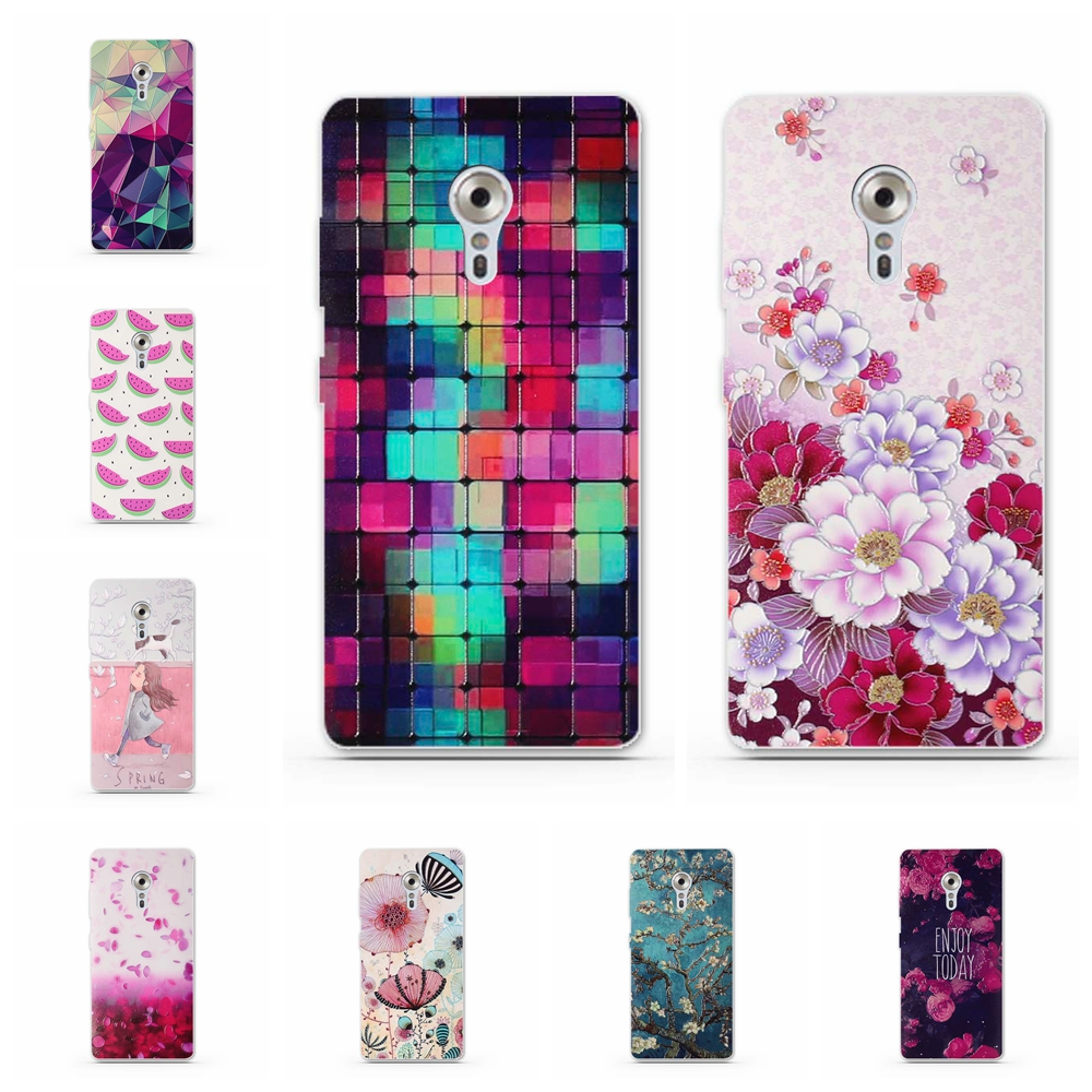 for Lenovo ZUK Z2 Pro Phone Case Silicon Back Cover for Lenovo Zuk Z2 Pro Soft TPU Bag Luxury 3D Relief Printing Cases Covers