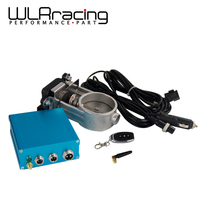 WLR Racing 2.5 / 63mm Vacuum Exhaust Cutout Electric Control Valve Kit With Vacuum Pump WLR ECV12