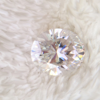10*8mm 3.0ct Oval Brilliant Cut Moissanites Loose Gemstone Moissanite Beads DEF Excellent Cut VVS1 for Lady Jewelry Making