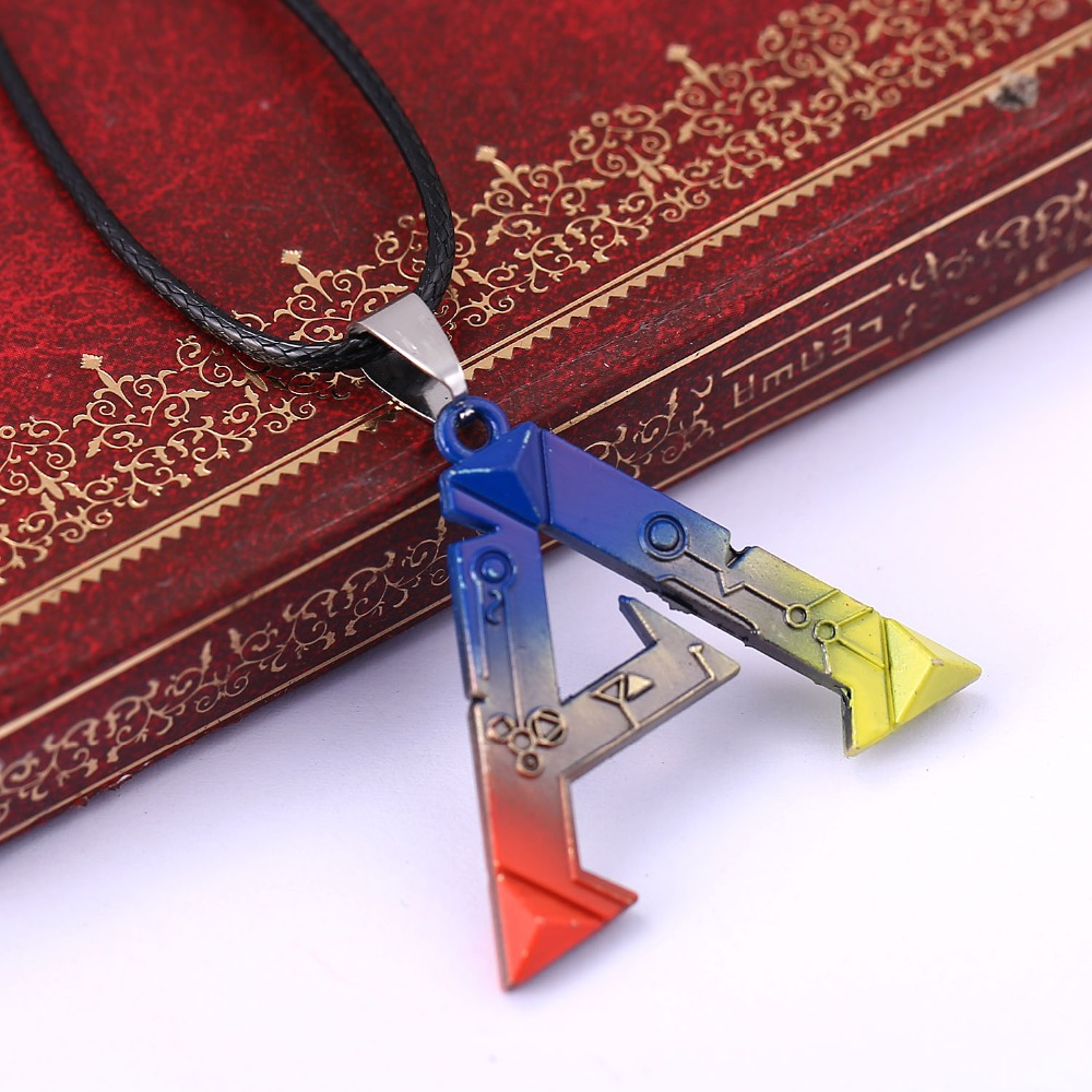H&F game ARK Survival Evolved colorful collar necklace High Quality male necklace Metal Movement Pendant necklace Souvenirs Gift