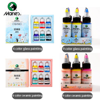 Ali Maries Pro Acrylic Glass/Ceramics Paint 30mL DIY Water resistant Drawing Color Art Painting Tool For School&Art Supplies