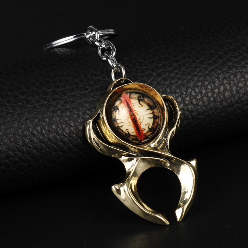 Game Diablo 3 Horadrim Watchmen Guardian Horadrim's Amulet Key Chains Keyrings Men Car Accessories Game Fans Christmas Gift