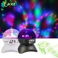 RGB LED Dmx Свет Этапа Эффект Портативный Динамик Bluetooth Красочные с MP3 Fm Радио для Партии KTV Disco DJ