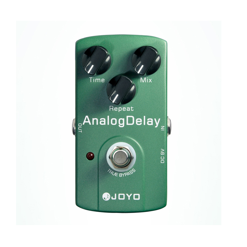 JOYO JF-33 True Bypass Analog Delay Guitar effect Pedal with Warm Output Tone free shipping joyo clean glass amp simulator electric guitar effect pedal true bypass jf 307 with free 3m cable