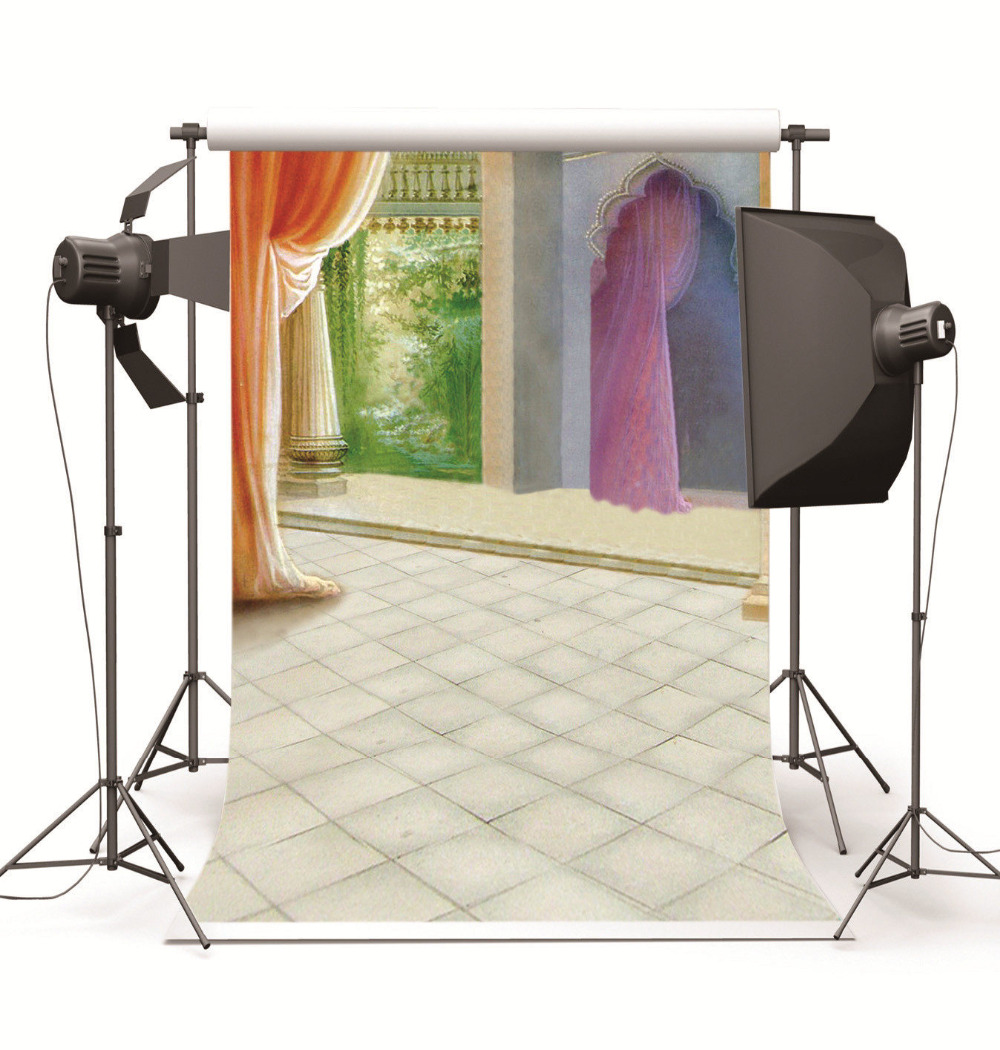Lgemlde Galerie Vorhnge Hochzeit Kinder Vinyl Hintergrund Fr Fotostudio Requisiten Kulissen FotografieChina