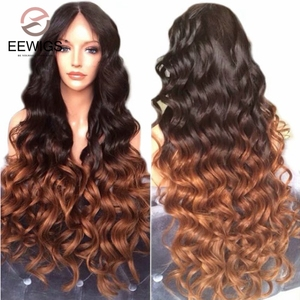 EEWIGS Ombre Brown Lace Front