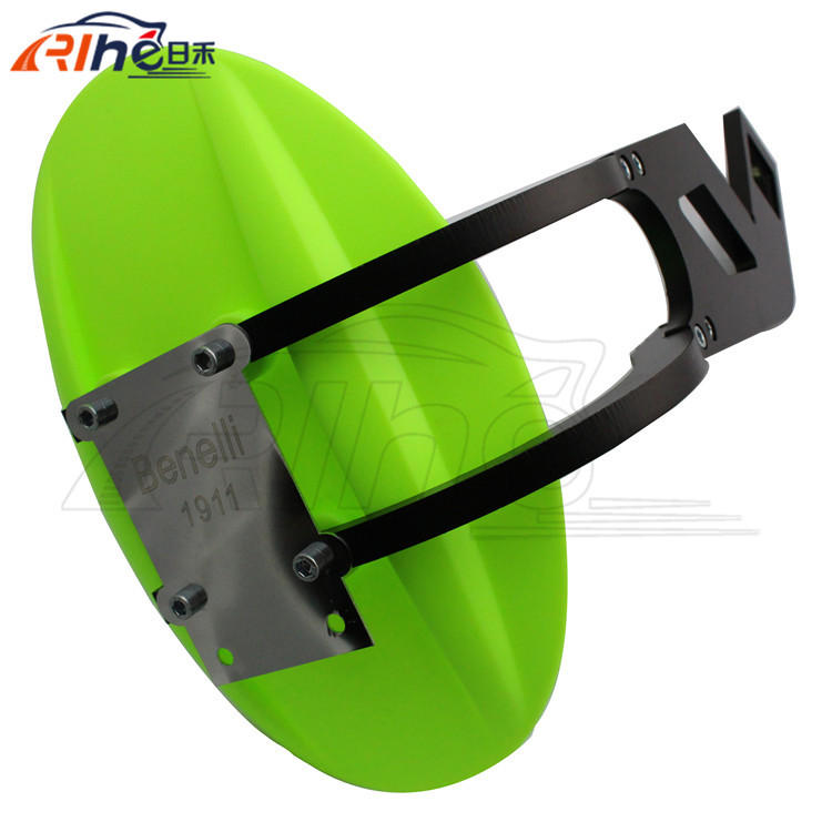 2015 new high quality green color motorcycle cnc aluminum mudguard fender motorcycle rear fender 3 colors for benelli BN300 600 motorcycle front mudguard benelli blade bj150t 10c
