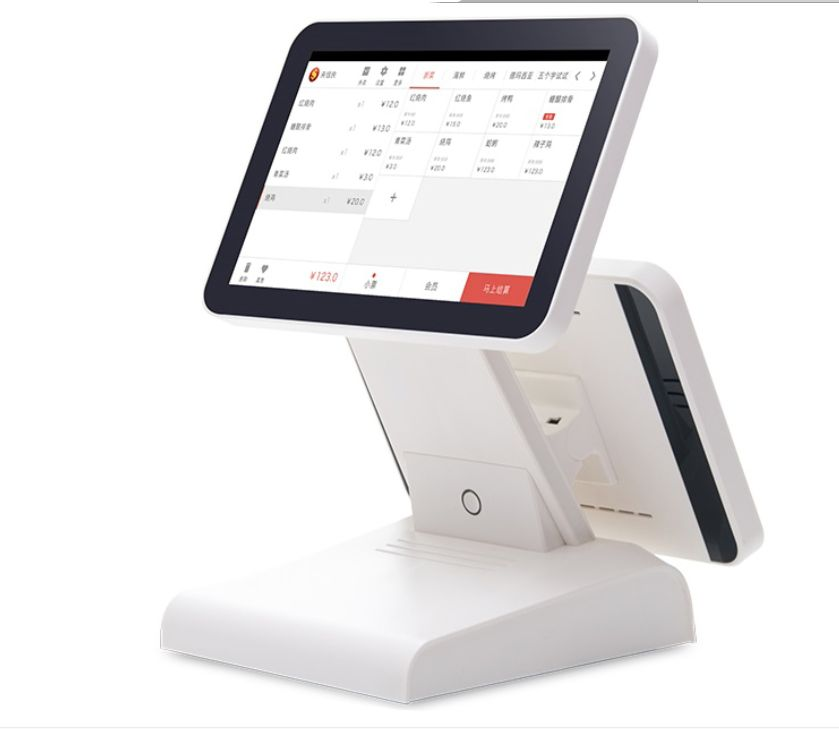POS Company Factory Price 12 Inch Dual Screen POS Terminal Best POS