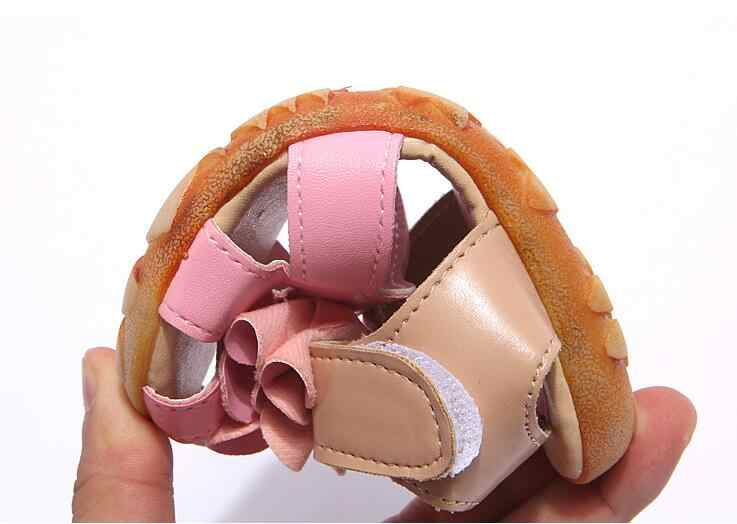 7a22f3b04aac2 ... Nouveau 2019 été fille sandales chaussures sandales antidérapantes  taille 21-30 bébé sandales ...