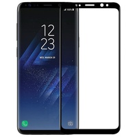 NILLKIN 3D CP MAX For Samsung Galaxy S9 SM G965 Full Coverage Curved Anti Explosion Tempered