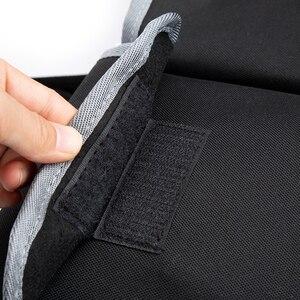 Image 4 - KAWOSEN Car Trunk Organizer Adjustable Backseat Storage Bag High Capacity Multi use Oxford Automobile Seat Back Organizer CTOB02