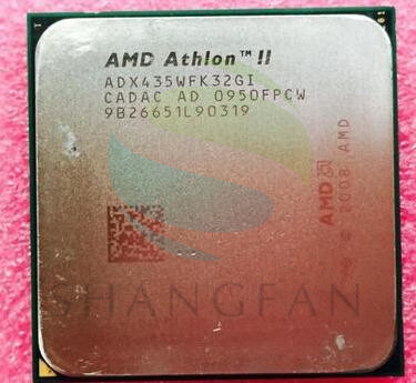 AMD Athlon II X3 435 2.9 GHz Triple-Core CPU Processor ADX435WFK32GI ADX435WFK32GM Socket AM3