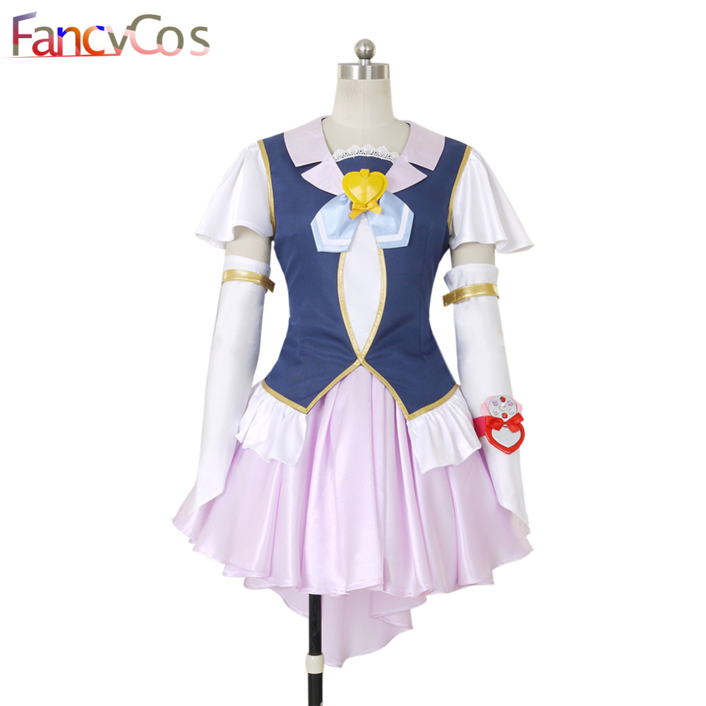 Halloween Happiness Charge PreCure  Cure Fortune lolita Dress Cosplay costume anime High Quality Custom Made