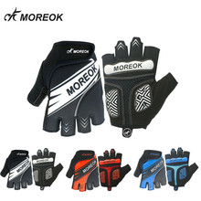 Unisex Portable Breathable Mountain Bicycle Riding Cycling Sports Half-Finger Gloves