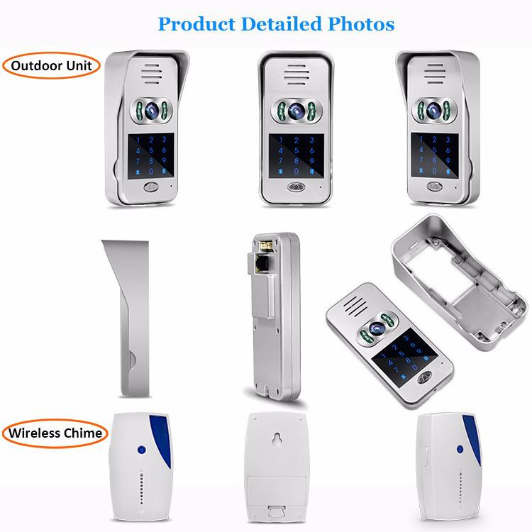 Aliexpress.com : Buy Hot Sale RJ45 Smart Home 720P TCP/IP WiFi Video  Doorbell Support Wireless Door Phone Unlock IOS Android APP Control From  Reliable Rj45 ...