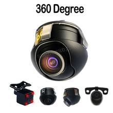 Mini Parking CCD Camera HD 360 Degree Car Rear View Camera Front View