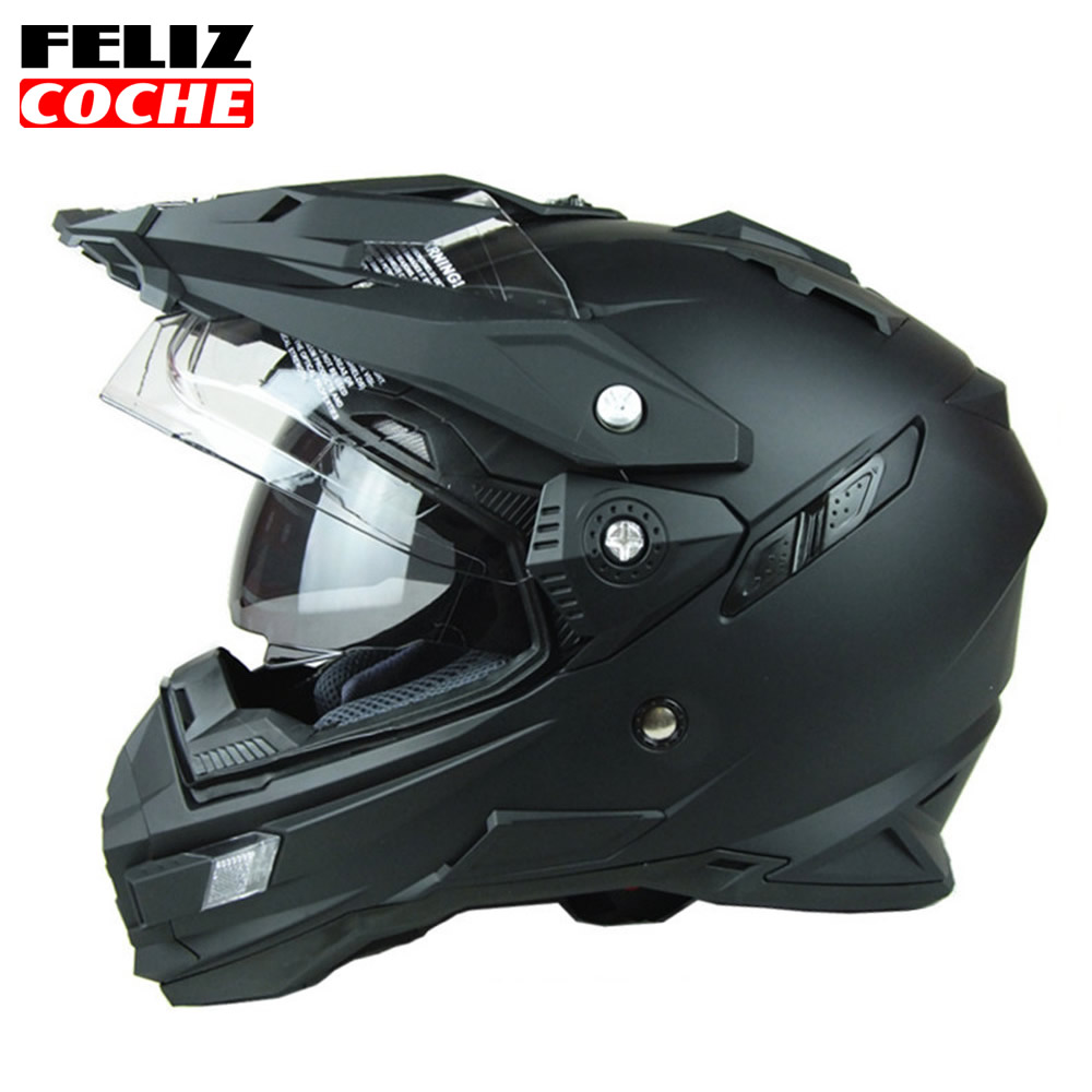 THH Helmet Mens Motorcycle Helmets Motocross Racing Helmet Off Road Motorbike Full Face Moto Cross Helmet Dual Shield Dot A2310 2017 new ece certification ls2 motocross motorcycle helmet ff352 full face motorbike helmets made of abs and pc silver decadent